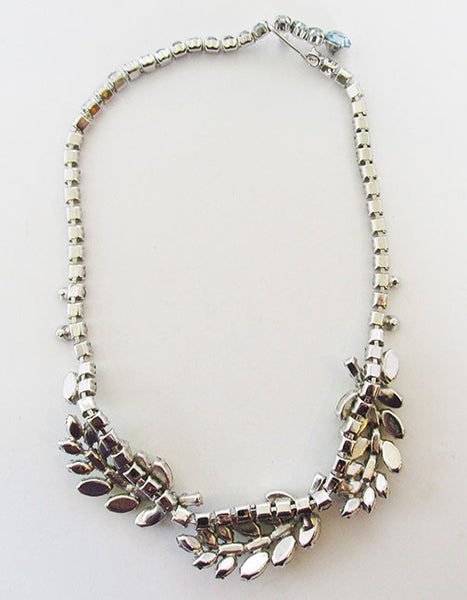Trifari Vintage Mid Century 1950s Exciting Leaf Necklace