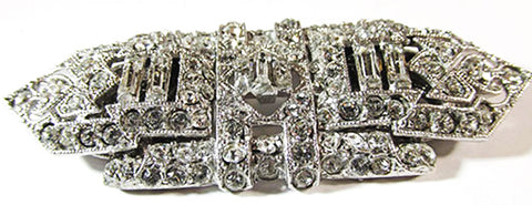 Coro Vintage Retro 1930s Stunning Art Deco Duette/Dress Clips