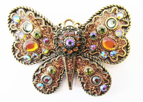 Bold Chico's Vintage Retro Contemporary Style Figural Butterfly Pin