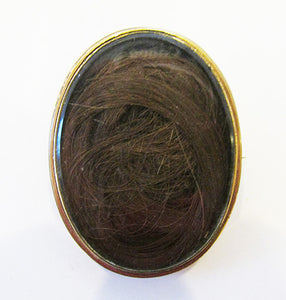 Antique/Vintage 1800s Human Hair Pin