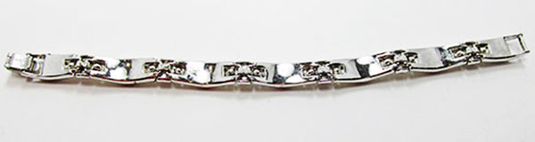 Trifari Vintage 1950s Alfred Philippe Signature Bracelet Book Piece - Back