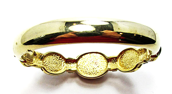 Vintage Retro Bold and Sophisticated Contemporary Style Cuff Bracelet