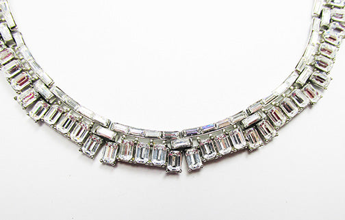 Trifari Vintage 1950s Alfred Philippe Signature Book Piece Necklace