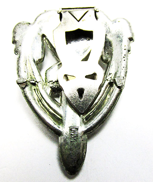 WMCA Vintage 1930s Dazzling Art Deco Dress Clip