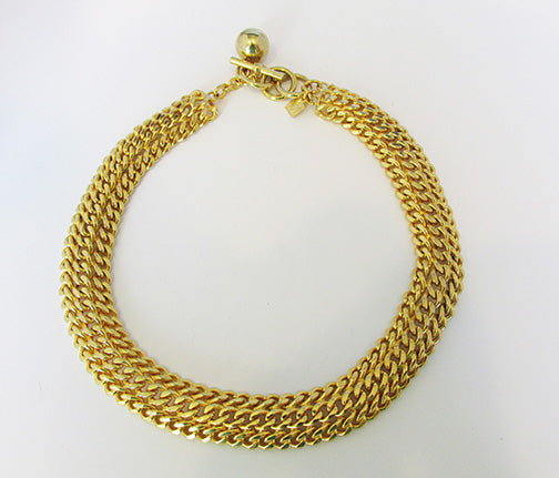 Anne Klein Vintage Retro Sophisticated Contemporary Style Necklace