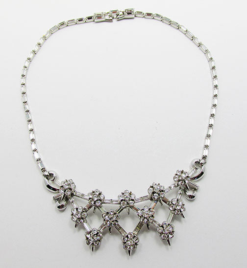 Corocraft Vintage Mid Century 1950s Beautiful Bib Necklace