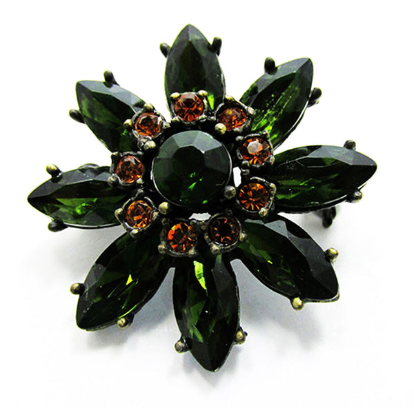 Vintage Eye-Catching Contemporary Style Retro Floral Pin