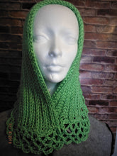 Load image into Gallery viewer, Lacey Neckwarmer with Closure pin  SALE 2O% OFF USE COUPON CODE: BQN2MS8KWSHR AT CHECKOUT