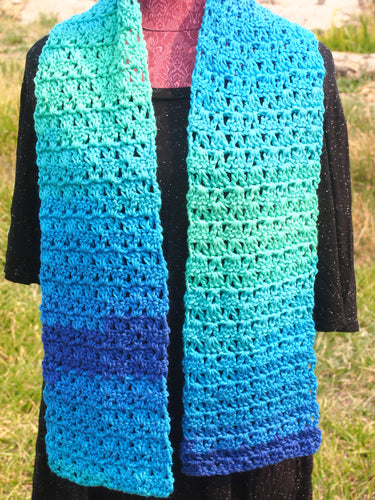 Colors of the Ocean Scarf