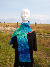 Load image into Gallery viewer, Colors of the Ocean Scarf