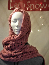 Load image into Gallery viewer, Rose long scarf or wrap with shawl pin