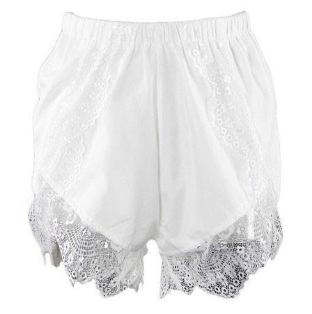 Comfortable lady fashion lace shorts - lilyby