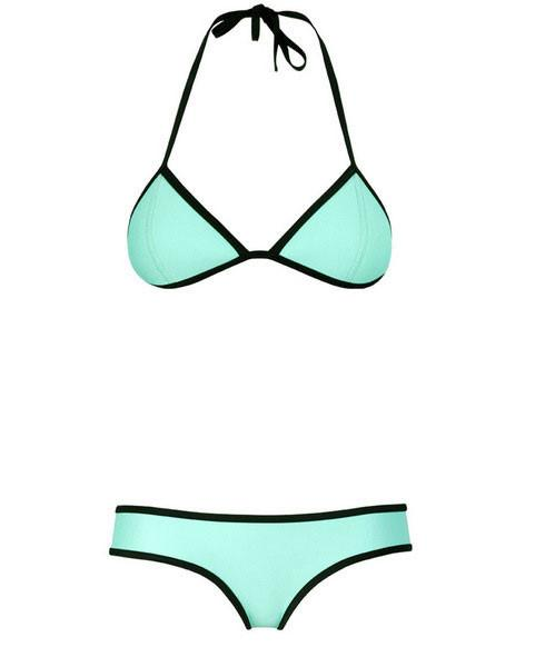 Sexy Women's Halter Triangle Bikini Push-Up Swimsuit Swimwear Beachwear For Big Sale!- Fowish.com