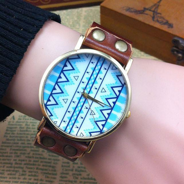 Vintage Original Geometric Totem  Watch For Big Sale!- Fowish.com