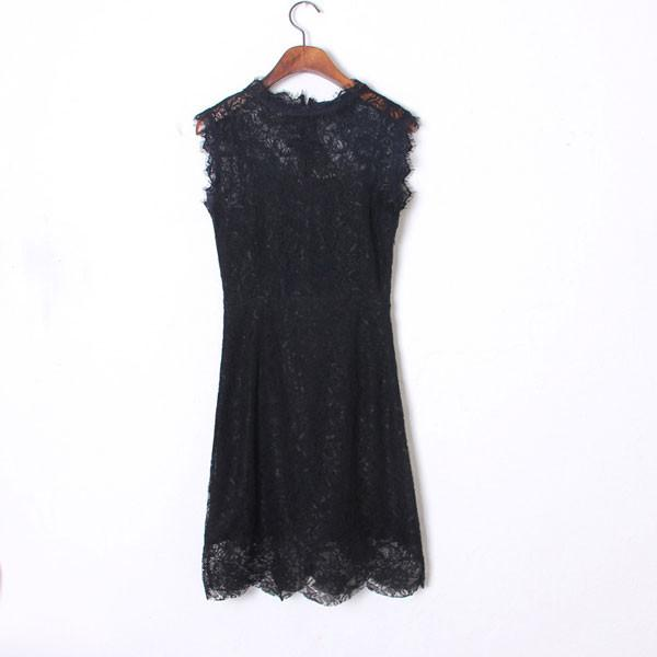 New Fashion Lace Sexy Temperament Bow Dress - lilyby