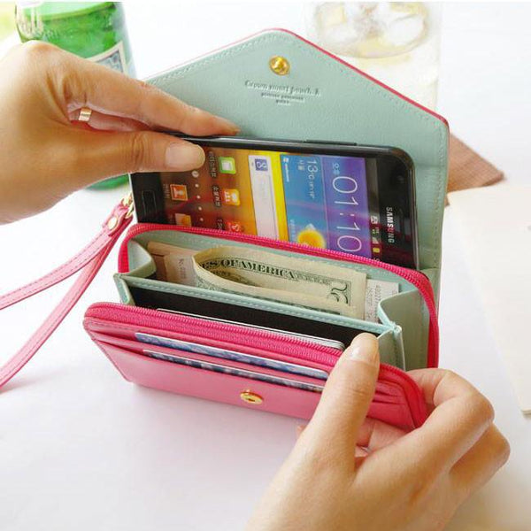 Cool Iphone Crown Wallet Multifunctional Phone Wallet - lilyby