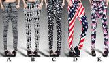 Skull Geometric Harem Hip-hop Pants/Leggings For Big Sale!- Fowish.com