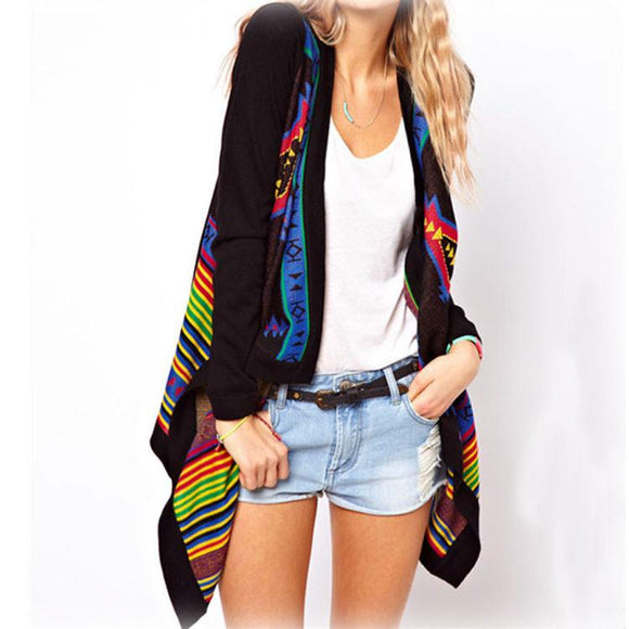 Unique Ethnic Geometric knit &Cardigan For Big Sale!- Fowish.com