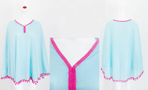 Sun Prevent Tassel Lace Prevent Shawl For Big Sale!- Fowish.com