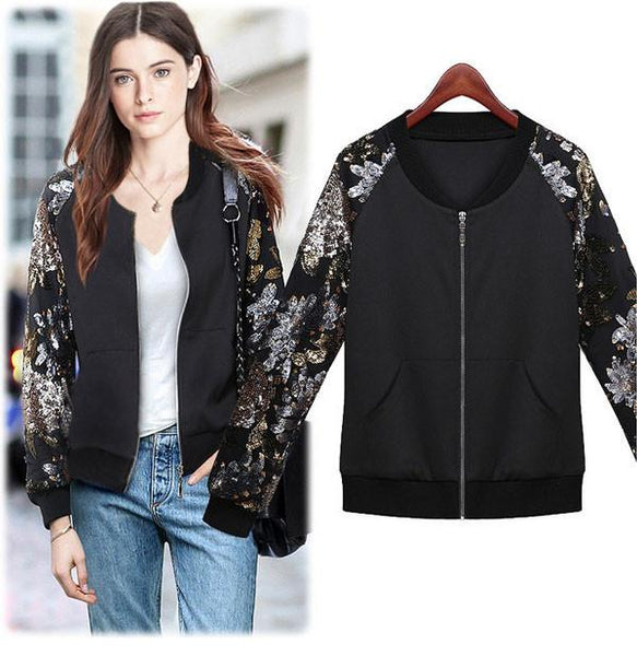 Unique Sequin Embroidered Cotton Jacket For Big Sale!- Fowish.com