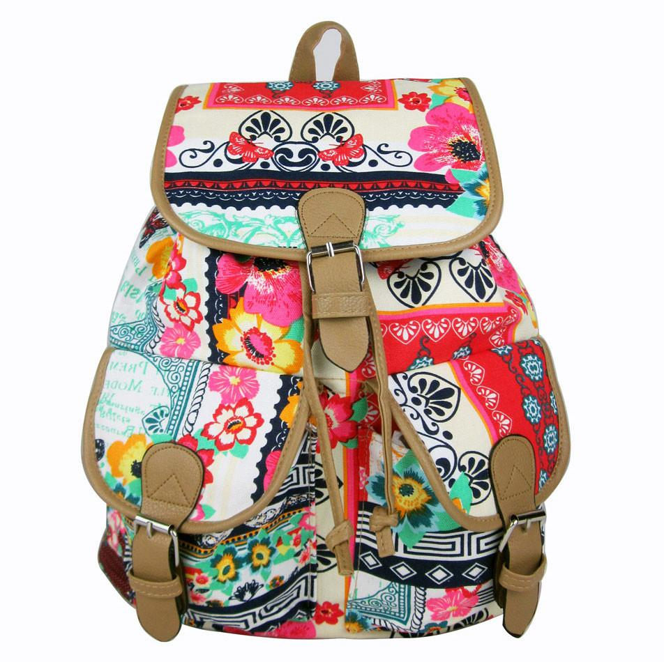 Unique Jacquard Leisure Backpack&Schoolbag For Big Sale!- Fowish.com