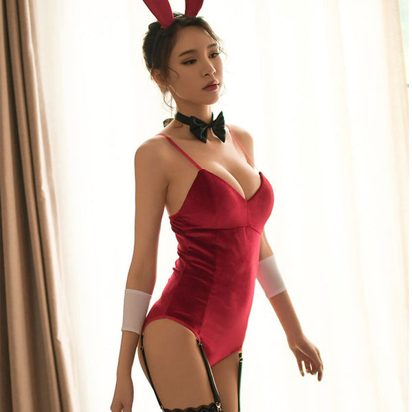 Sexy  Rabbit Girl Women Cosplay Intimate Lingerie
