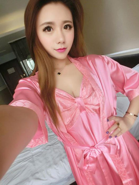 Sexy Ladies Lace Nightgown Temptation Pajamas For Big Sale!- Fowish.com
