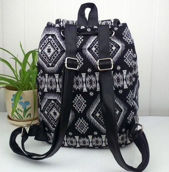 Fashion Geometry Gradient Folk Style Printed Leisure Backpack&Schoolbag For Big Sale!- Fowish.com