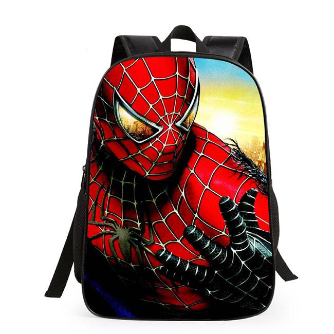 Cute Spider Man Super Hero Minions Cartoon School Student Children's Backpack For Big Sale!- Fowish.com