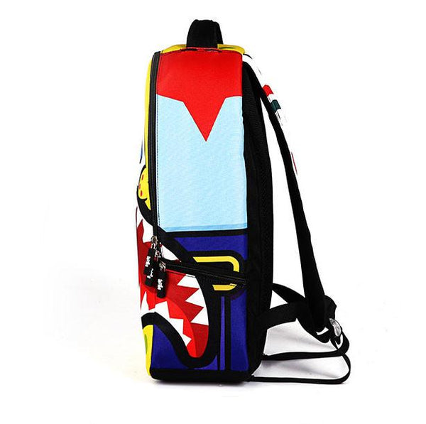Frightened SpongeBob Backpack Cartoon Schoolbag For Big Sale!- Fowish.com