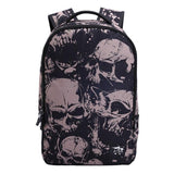 Skull School Rucksack Young Man Polyester Travel Backpack For Big Sale!- Fowish.com
