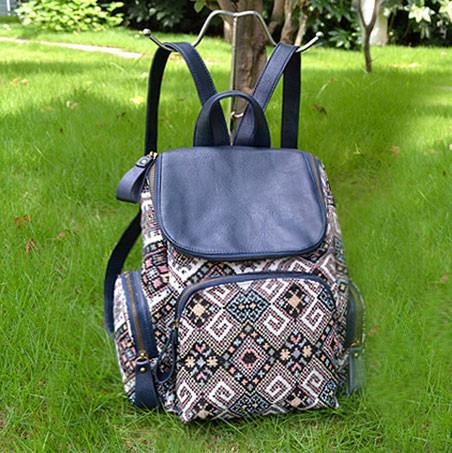 Fresh Systems Stitching Leather Travel Backpack Schoolbag For Big Sale!- Fowish.com