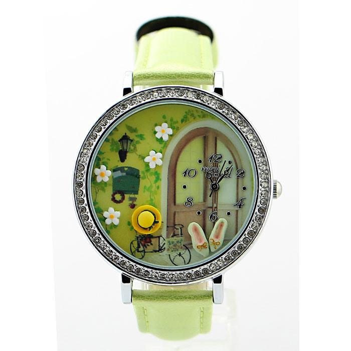 New Garden Polymer Clay Watch - lilyby
