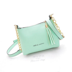 New Pretty Fringed Chain Shells Shoulder Bag - lilyby