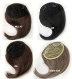 Blond Colors Available New Synthetic  Side Bangs - lilyby