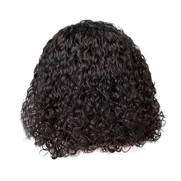 Fashion New Black African Middle Wig Curly Hair Wig