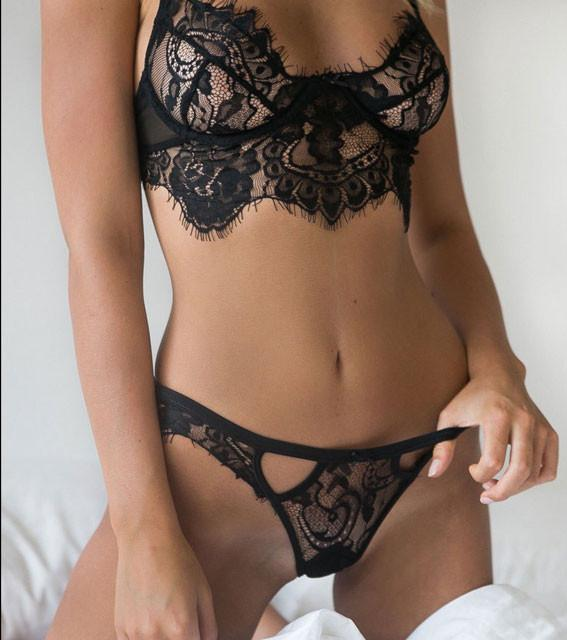455ee833d Women s Lace Halter Hollow Out Sexy Lingerie Suit Underwear For Big Sale!-  Fowish.