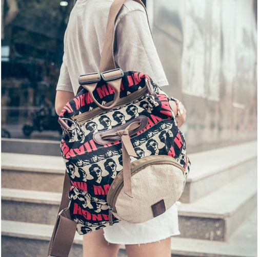 Avatar Printing Backpack Shoulder Bag Schoolbag For Big Sale!- Fowish.com