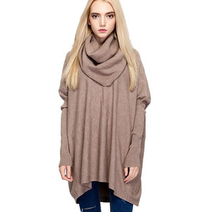 Batwing Long-sleeved Sweater Outside Wearing Sweater For Big Sale!- Fowish.com