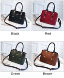 Fashion Leisure British Style Lady Handbag PU Shoulder Bag