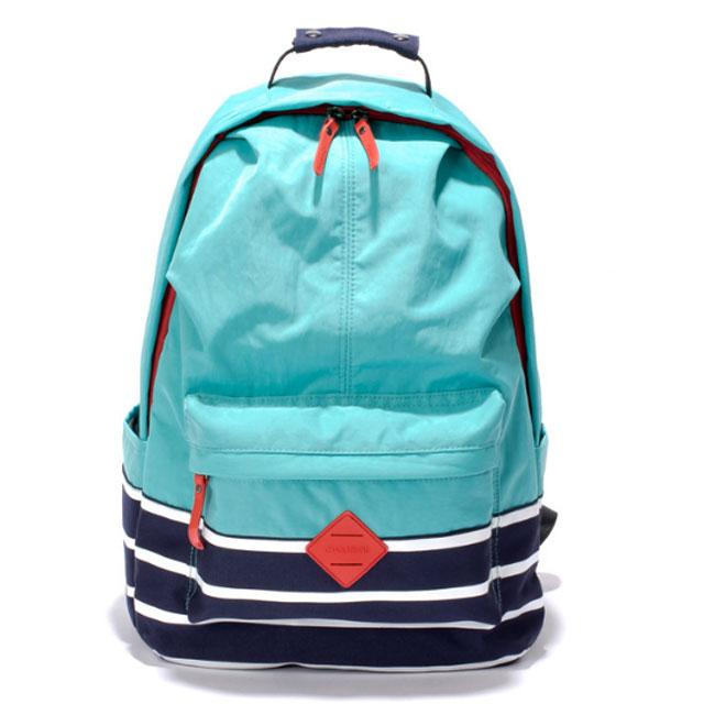 Fresh College Nylon Travel Bag Striped School Large Candy Color Backpack For Big Sale!- Fowish.com