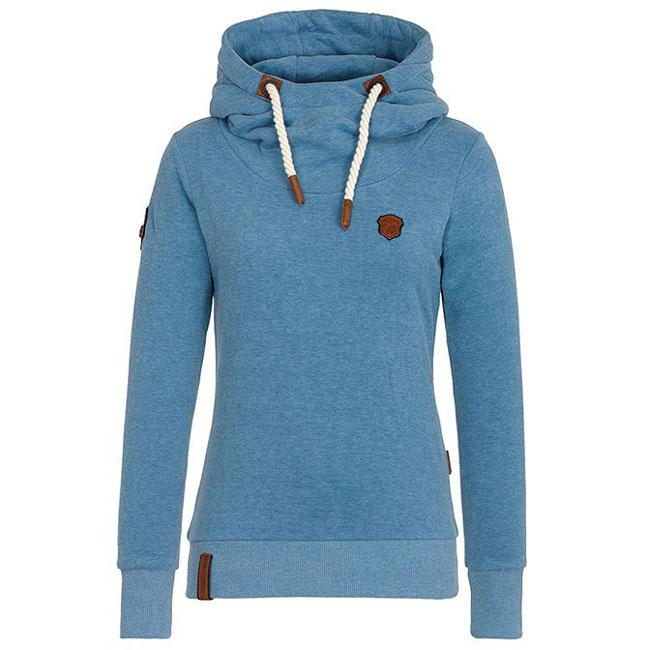 Pure Color Fall Winter Hoodie Outfit Girls Sport Cashmere Top Women Sweater  For Big Sale! 15b11d081a
