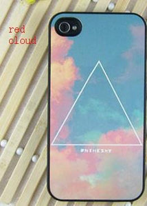 Triangle Cloud Matte iPhone Case For IPhone 4/4s/5 For Big Sale!- Fowish.com