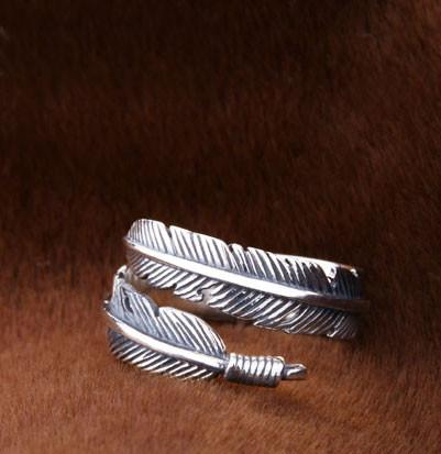 Unique Angel Wings Feather Ring For Big Sale!- Fowish.com