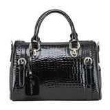 Retro Luxurious Leopard Printed Leather Handbag For Big Sale!- Fowish.com