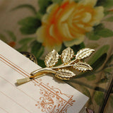 Vintage Beautiful Forest Style Olive Branch Leaves Bride Hairpin Hair Clips