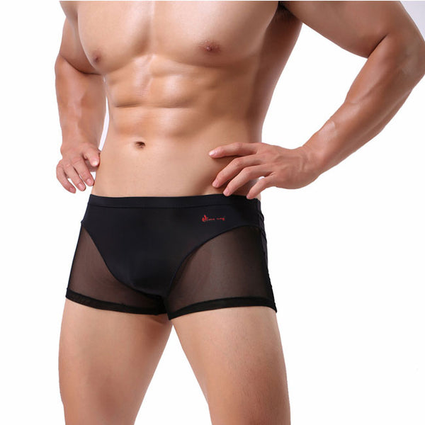 Sexy Man Perspective Underwear Pants Intimate Lingerie