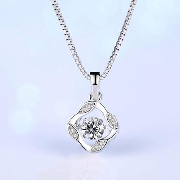 Fashion Silver Clavicle Screw Pendant Women's Necklace For Big Sale!- Fowish.com