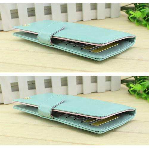 Graceful Pure Multifunction Crown Wallet Billfold - lilyby