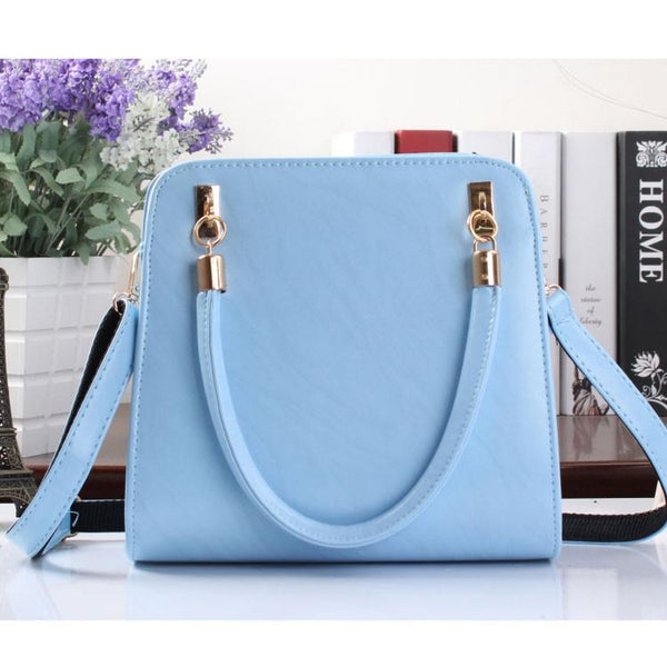 Temperament Simple Candy-colored Stereotypes Handbag For Big Sale!- Fowish.com